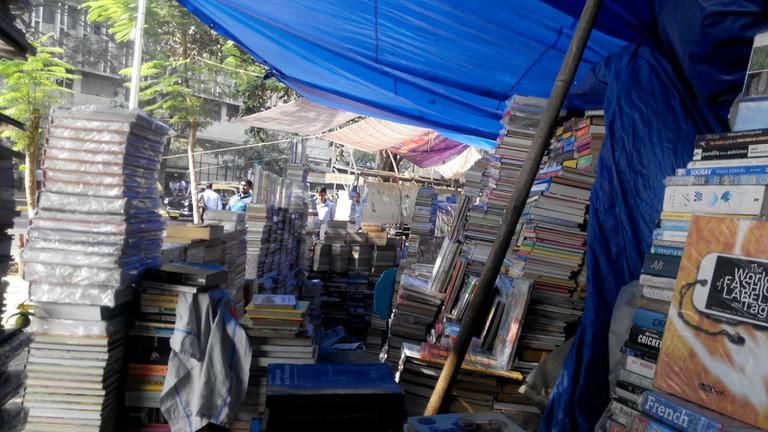 Stalls at book street | © Aditi Mukund