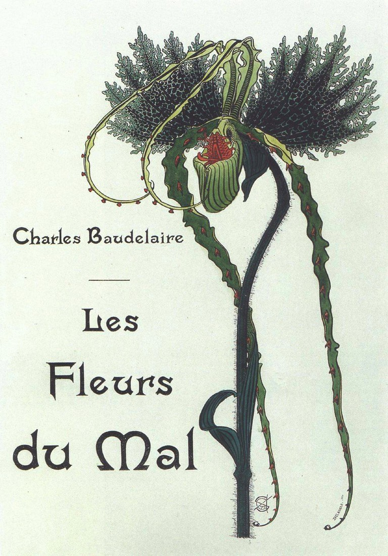 Les Fleurs du Mal Title Page / © Carlos Schwabe 1900/ Wikicommons