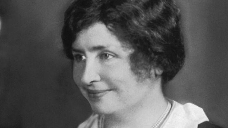 Helen Keller courtesy of the NYPL