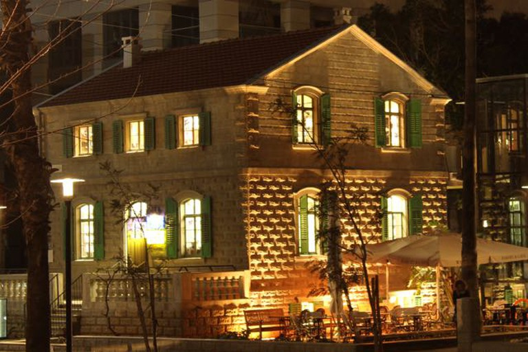 Sarona Building at Night | © Mya Marshall