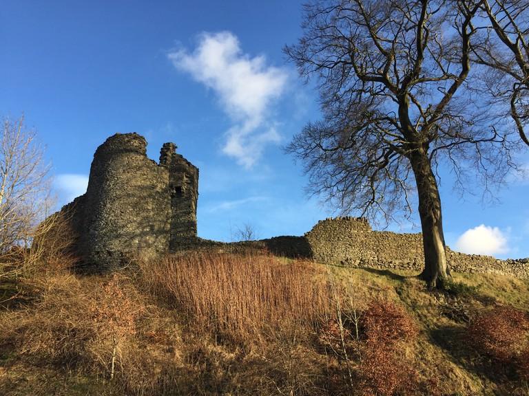 Kendal Castle   © Courtney Stanley
