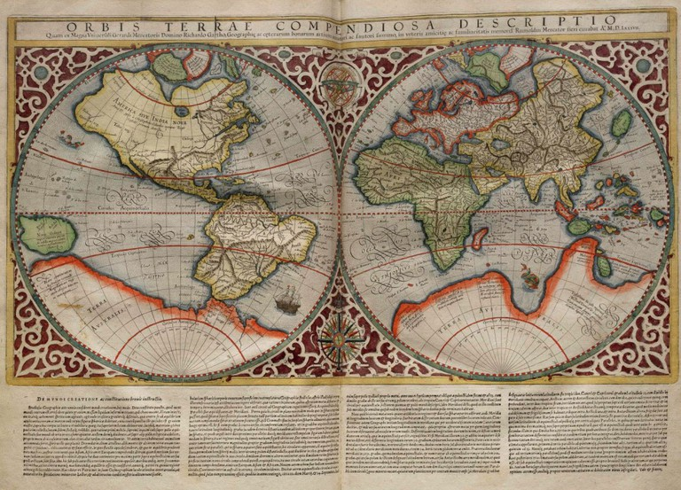 World Map | © Rumold Mercator/WikiCommons