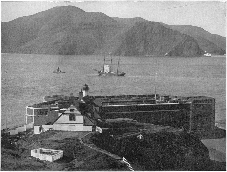 An early photo of Fort Point, circa 1891 © Shepp's Photographs of the World/Wikipedia