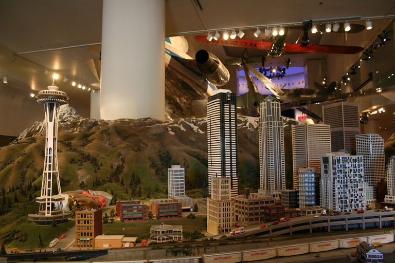 Structure models at the Museum | © Brent Payne/Flickr