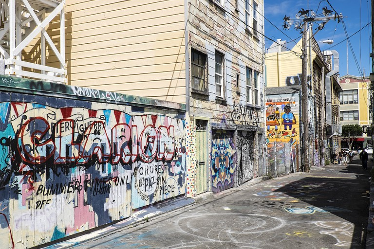 Street in the Mission © Emile Lombard/Flickr
