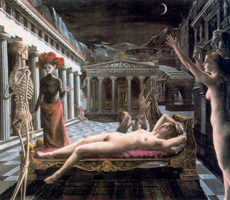 Sleeping Venus |© Paul-Delvaux/Picasa