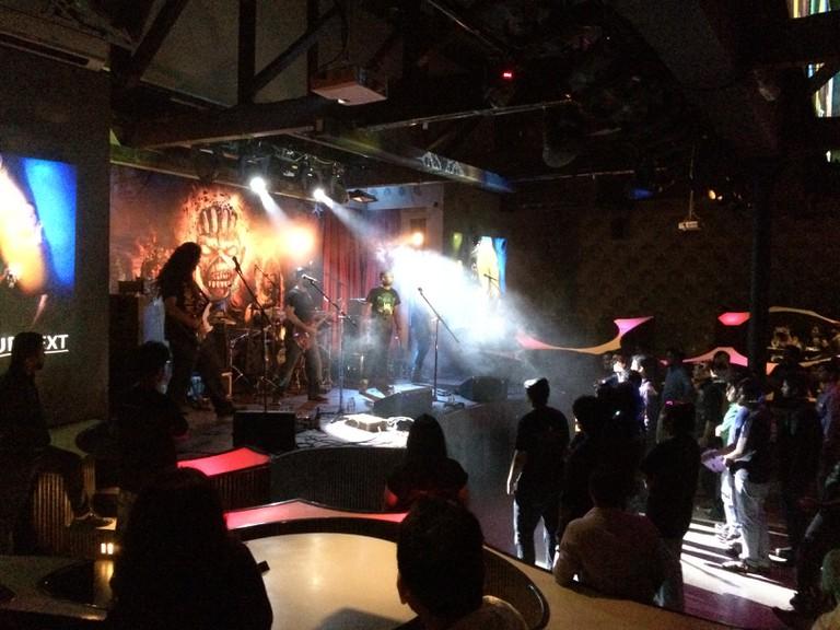Iron Maiden tribute night   © Rohan Moorthy