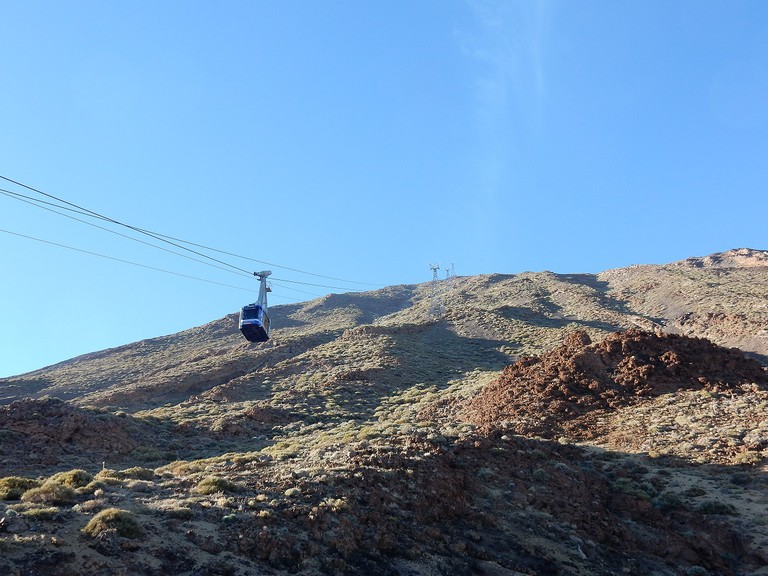 The cable car, Teide National Park © Kirsten Henton