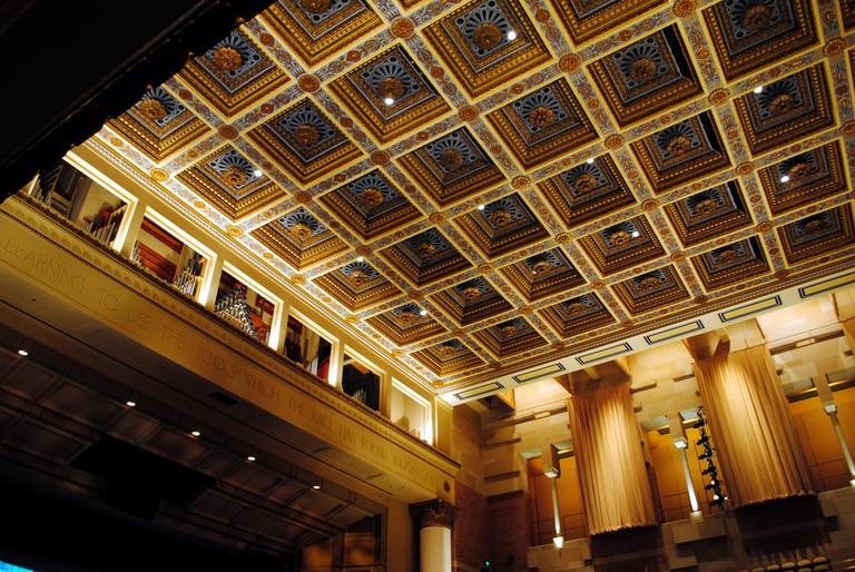 UCLA Royce Hall Interior © Andrew Adams / Flickr
