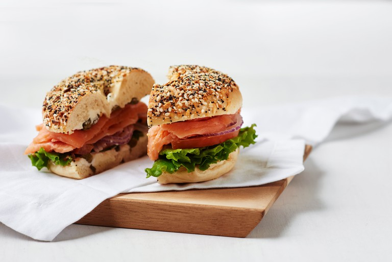 The Traditional | Courtesy of Western Bagel