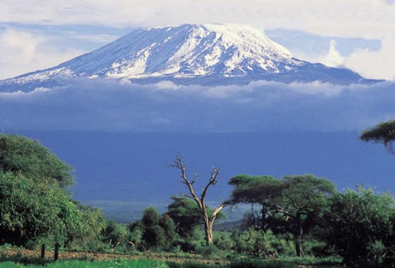 Mount Kilimanjaro, the highest point in Africa