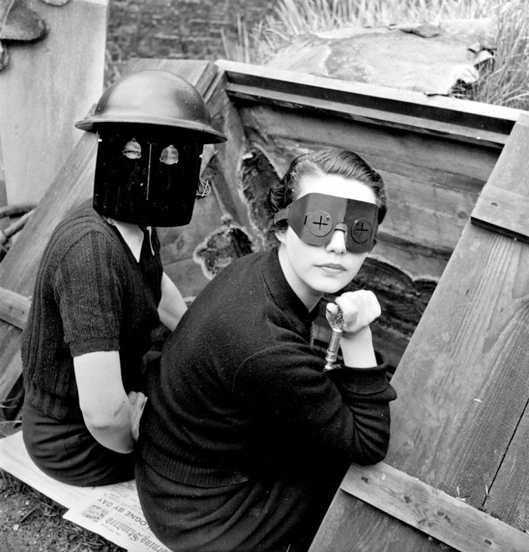 Fire Masks © Lee Miller Archives, England 2016. All rights reserved.