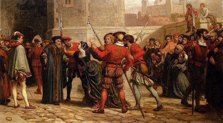 William Frederick Yeames. The meeting of Sir Thomas More with his daughter after his sentence of death, 1872 | © Pimbrils / WikiCommons