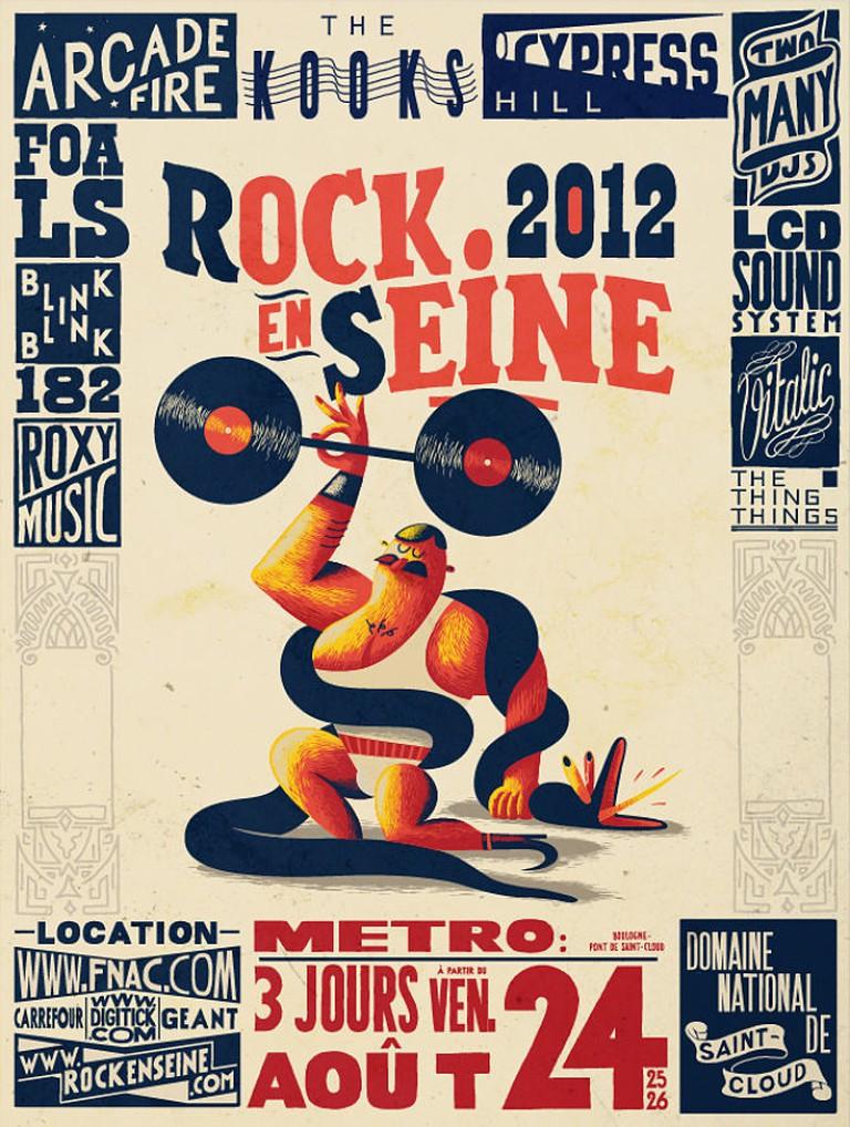 Rock en Seine / Les Fre