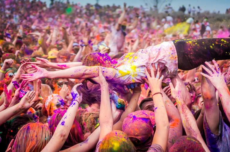 Holi Festival of Colours   © Steven Gerner/Flickr