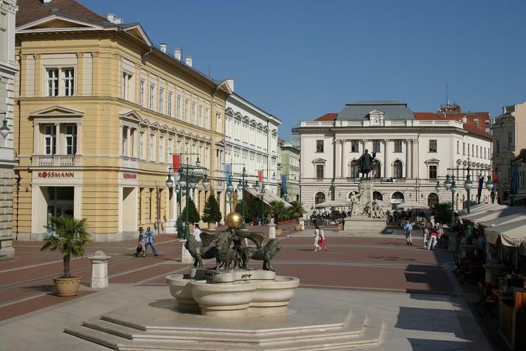 Kossuth Lajos statue Szeged