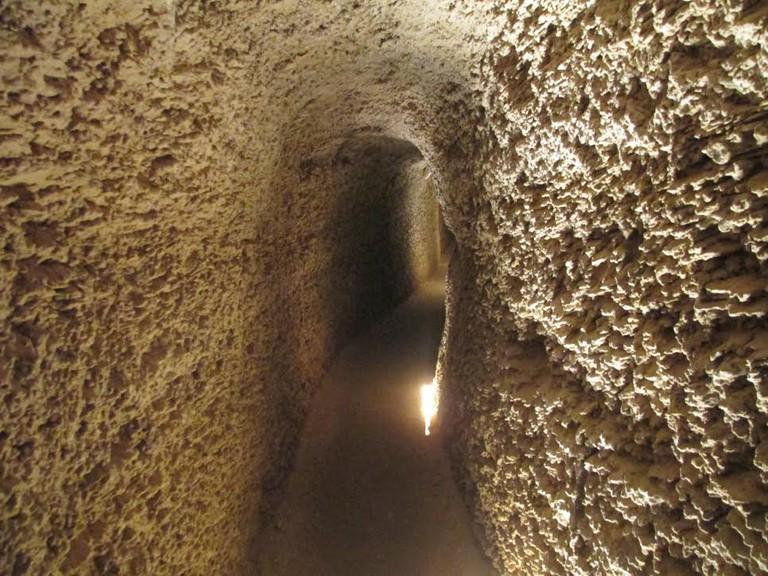 Sarona Tunnel | © Dr. Avishai Teichler