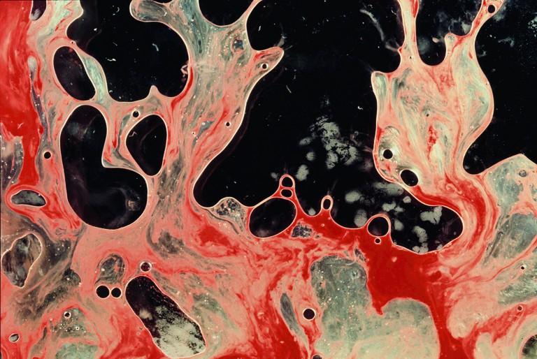 Semen & Blood III, Bodily Fluids series | © Andres Serrano/Courtesy of Galerie Nathalie Obadia Paris/Brussels