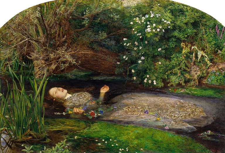 John Everett Millais, Ophelia, 1851-1852 | © Tate Britain/WikiCommons