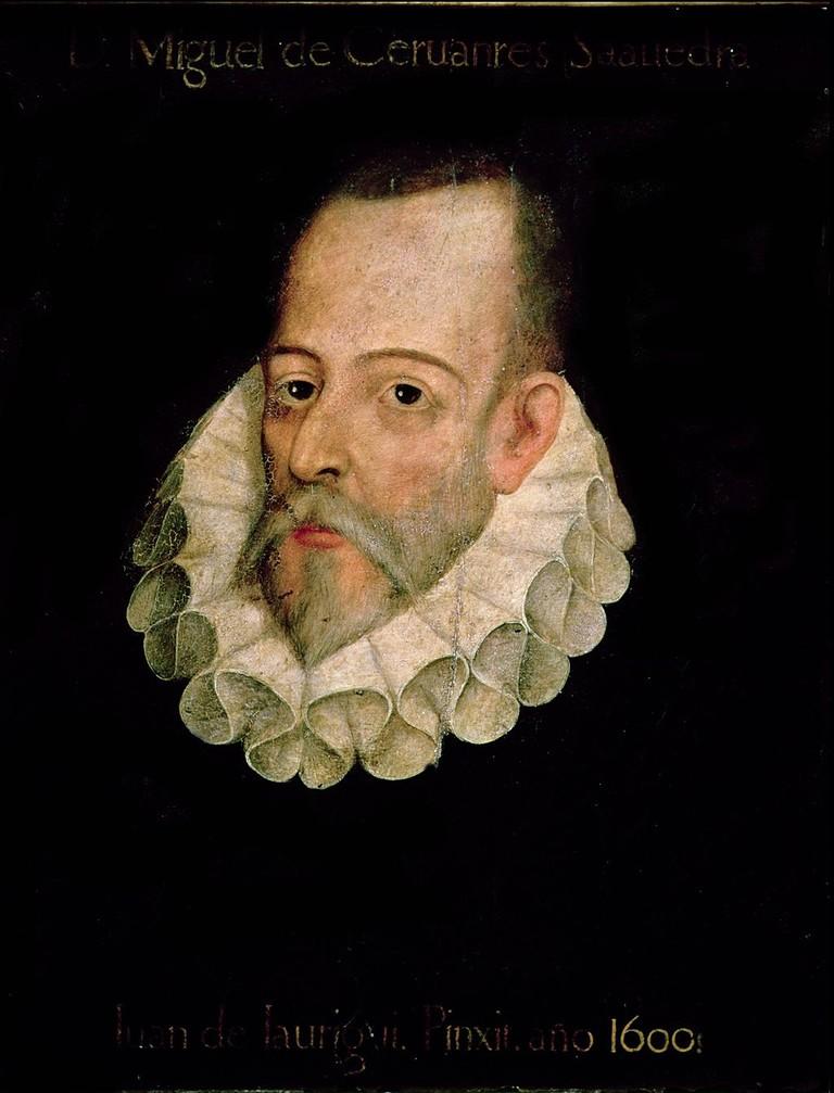 Miguel de Cervantes by Juan de Jáuregui | Public Domain / WikiCommons