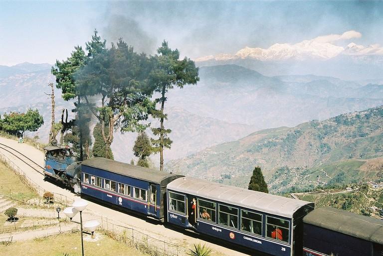 The Toy Train Returning To New Jalpaiguri (C) WikiCommons