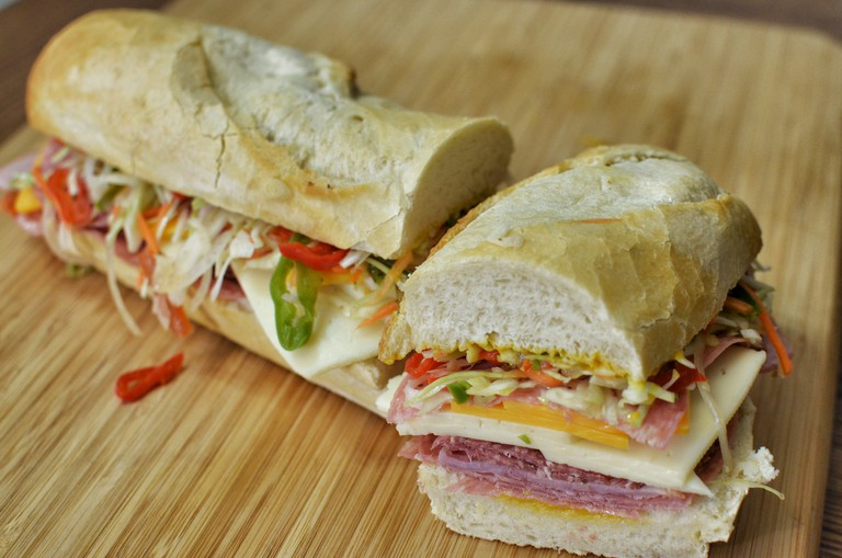 Mmm... cold cuts sub with slaw | © jeffreyw/Flickr