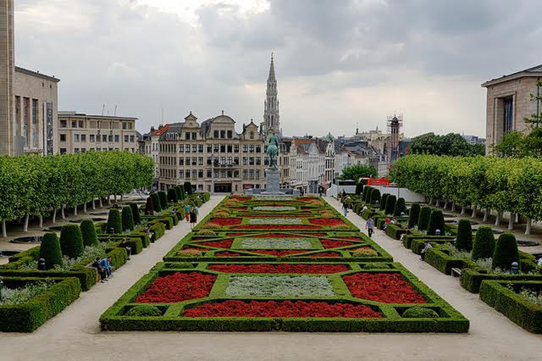 Mont des Arts Garden | © Alastair Campbell/Flickr