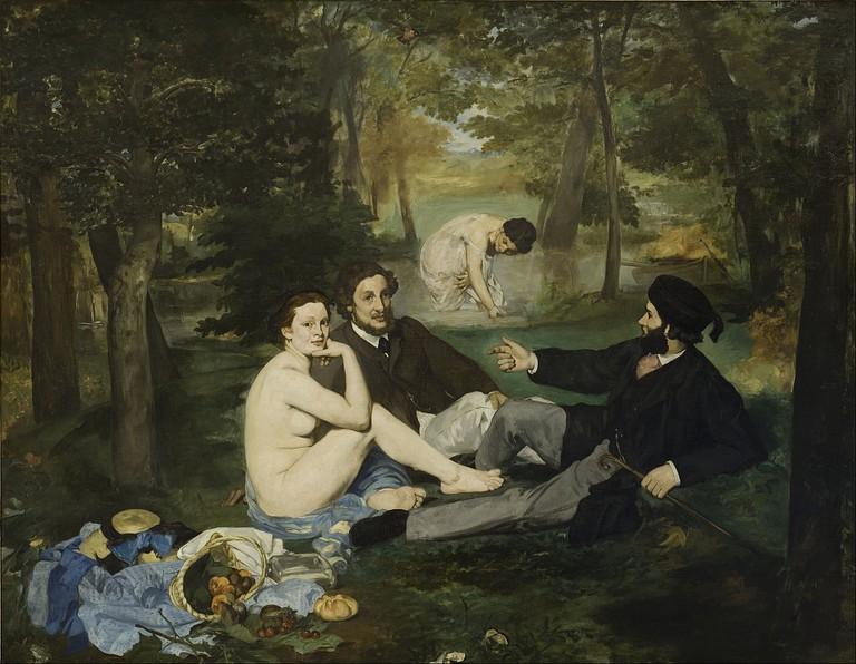 Déjeuner sur l'Herbe by Edouard Manet   © Google Cultural Institute/WikiCommons