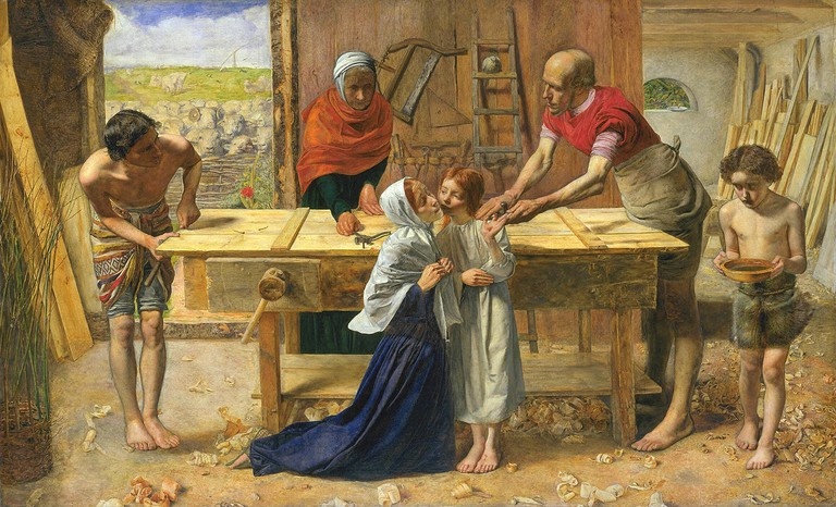 John Everett Millais, Christ in the House of His Parents, 1849-1850 | © Tate Britain/WikiCommons