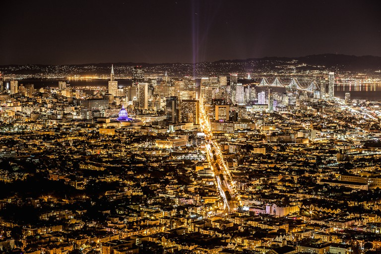 The view from Twin Peaks © Eric May