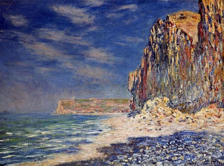 Claude Monet - Cliff near Fecamp © Sharon Mollerus / Flickr