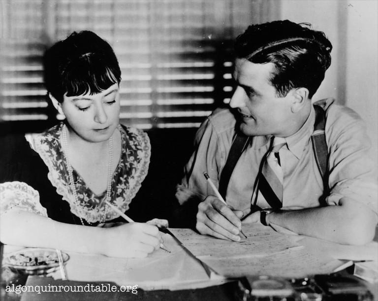 Dorothy Parker & Alan Campbell   © Kevin Fitzpatrick/Flickr