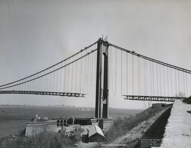 Verrazano-Narrows Bridge: The Beginning | © Metropolitan Transit Authority of the State of New York/Flickr