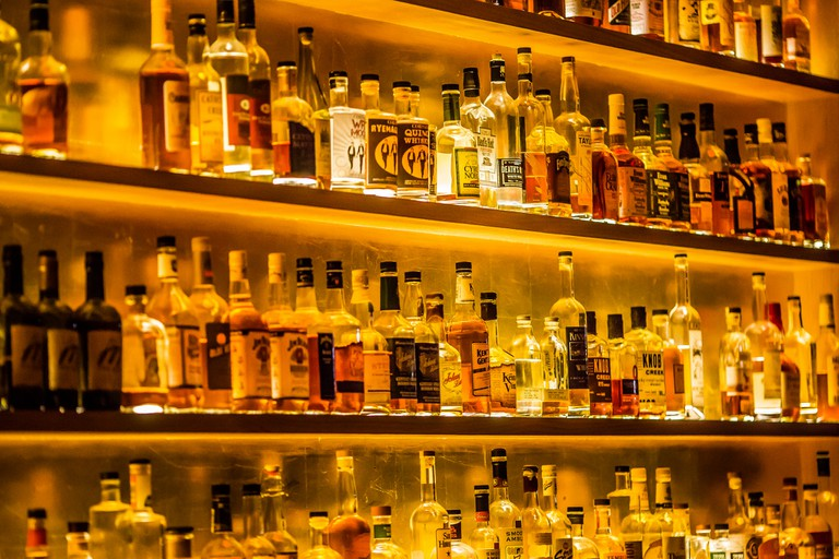 Bourbon Bar | © Thomas Hawk/Flickr