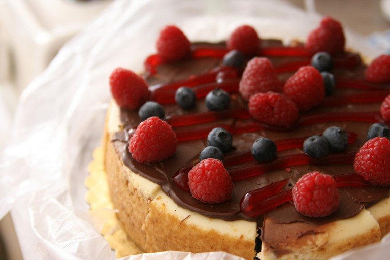 Berry cheesecake | © Quinn Dombrowski/Flickr
