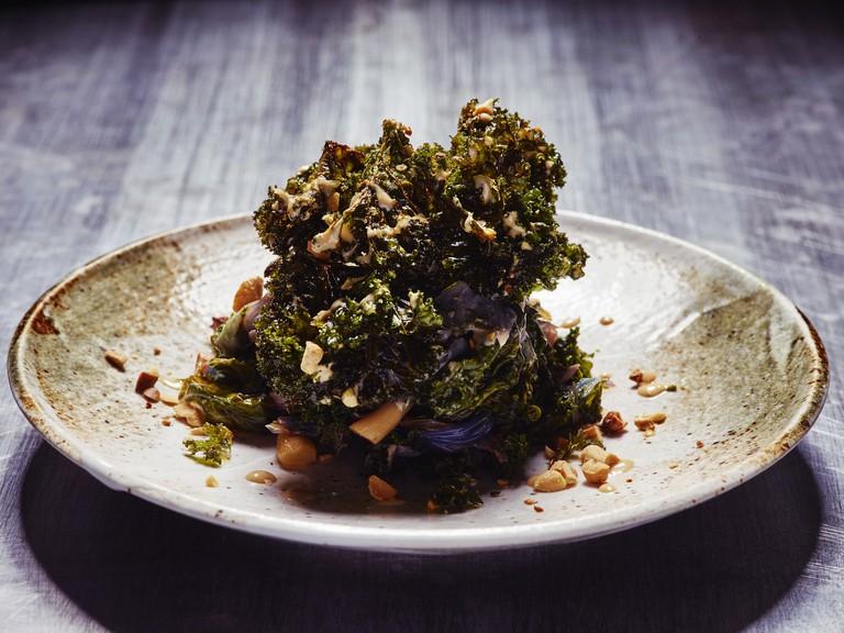 Crunchy Kale Salad | Courtesy of Samphire Communications
