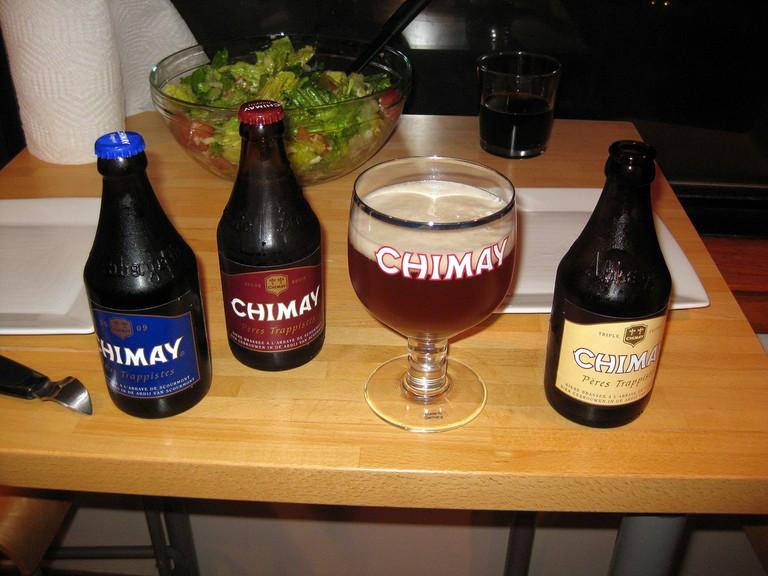 Chimay Beer ©Antonio Zugaldia