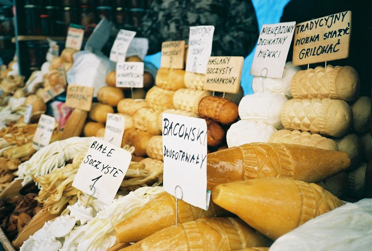 Oscypek is a delicious smoked sheep's milk cheese © Monica Kelly / Flickr