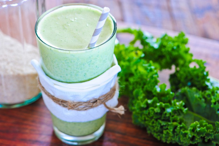 green smoothie-4 | © jules/Flickr