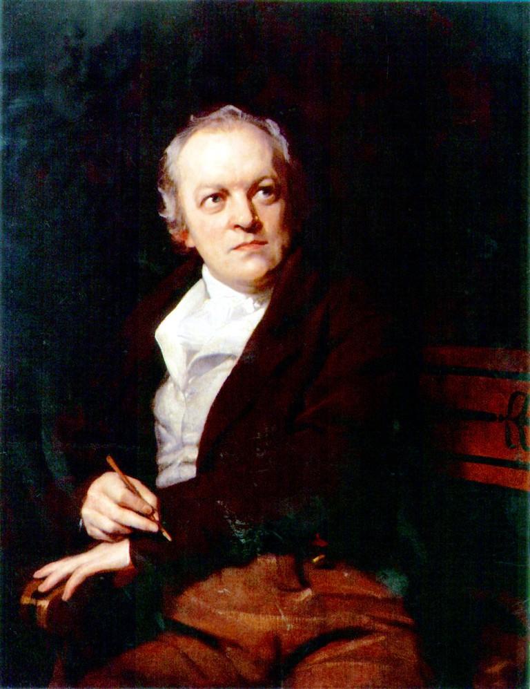 Portrait of William Blake by Thomas Phillips © Books18