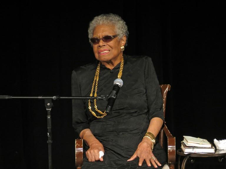 Maya Angelou   © York College ISLGP/Flickr