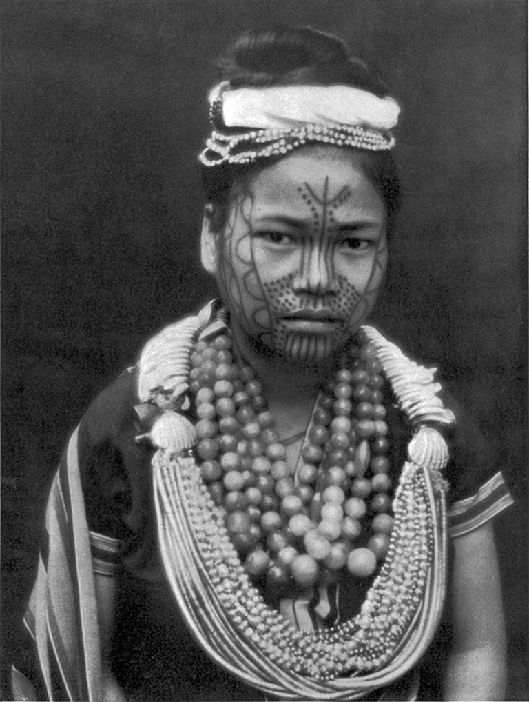 Facial Tattooing of a young woman of the Singpho/Kachin tribe | Flickr