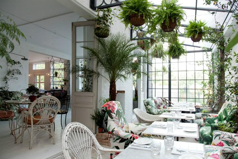 B&H Buildings Greenhouse | Courtesy of Kapranos
