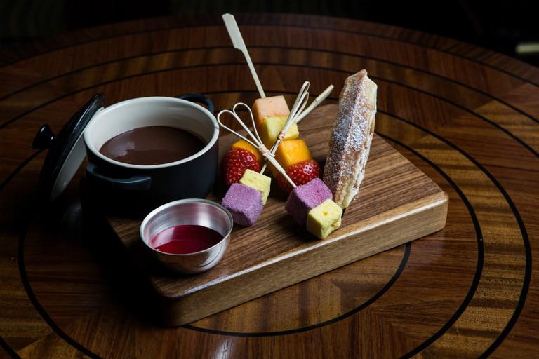 Chocolate Fondue | Courtesy of Kapranos