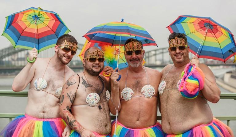 Scenes from Cologne's Pride 2015 via Wikicommons