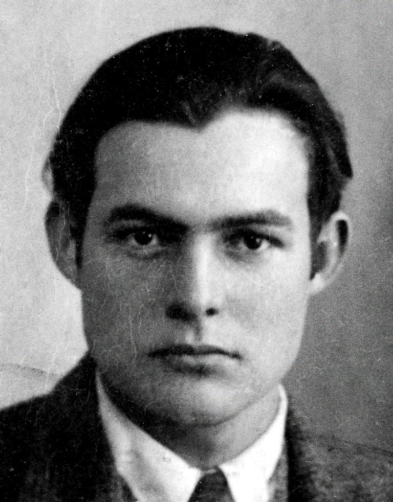 Ernest Hemingway, 1923   © Unknown/WikiCommons