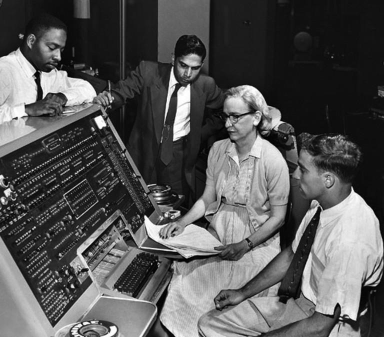Grace_Hopper_and_UNIVAC  © Chris Monk/flickr