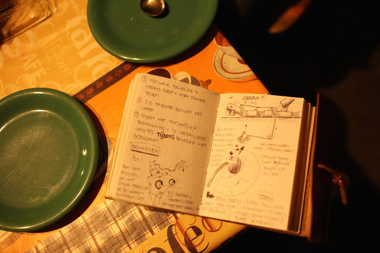 Bart's Sketches/Courtesy Anuschka Theunissen