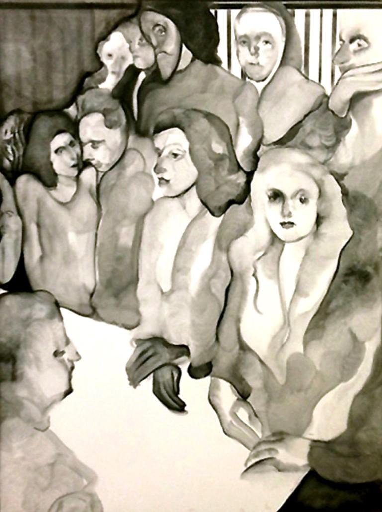 Maya Bloch_Untitled (First group)_Galerie Guido W. Baudach, Berlin_rgb