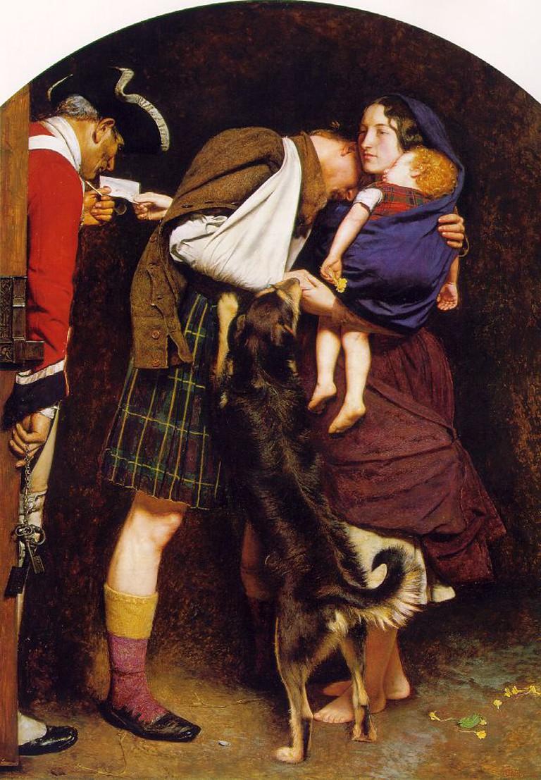 John Everett Millais, Order of the Release, 1852-1853 | © Tate Britain, WikiCommons
